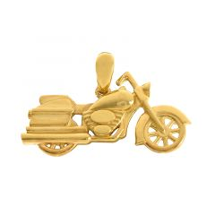 22k Gold Motorcycle Gold Pendant